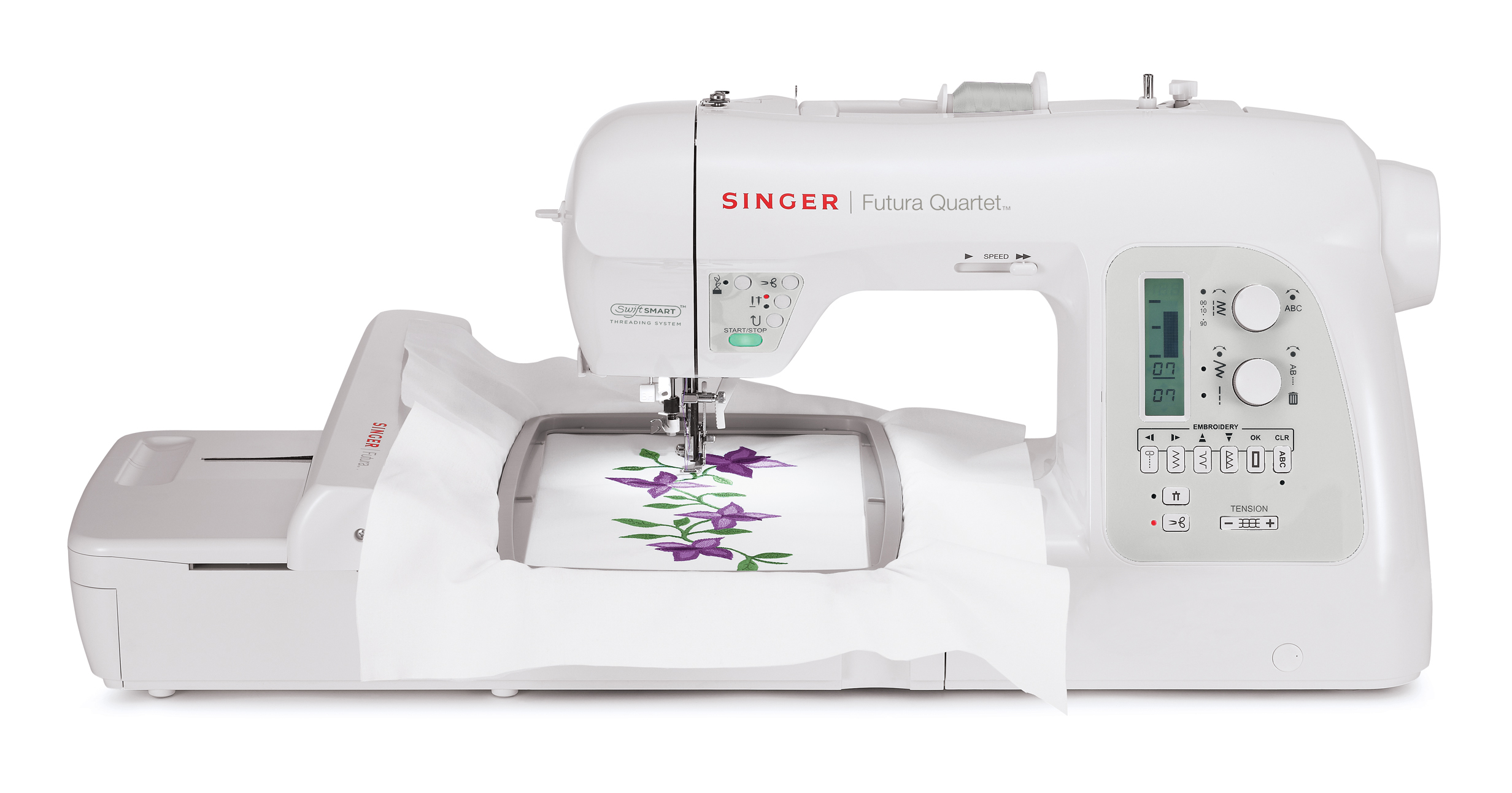 Singer futura support is sewing made easy™